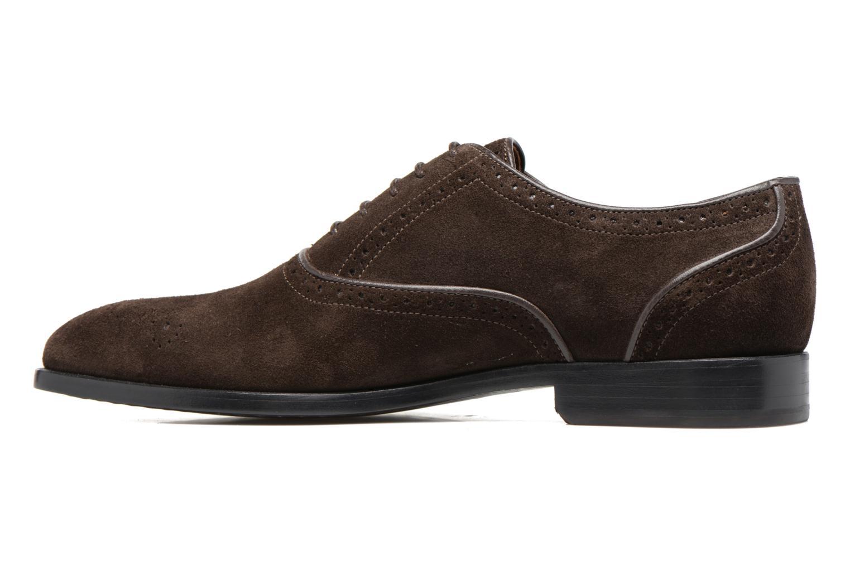 Chaussures à lacets Paul Smith Gilbert Marron vue face