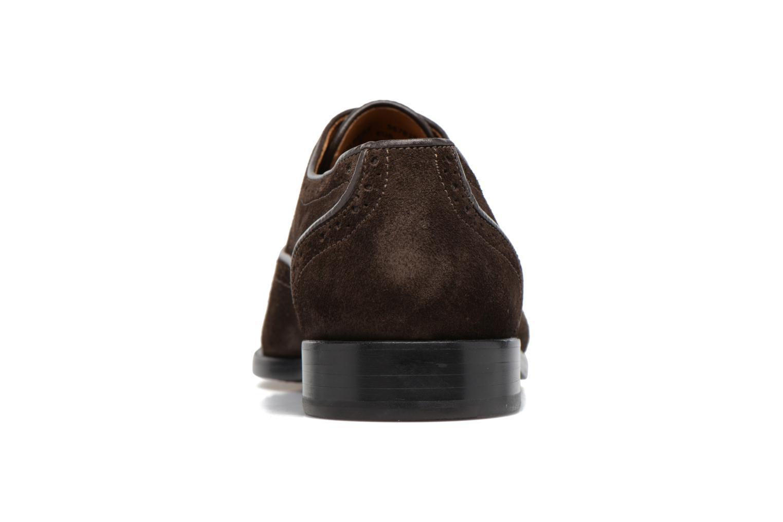 Chaussures à lacets Paul Smith Gilbert Marron vue droite