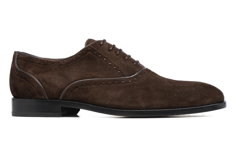 Chaussures à lacets Paul Smith Gilbert Marron vue derrière
