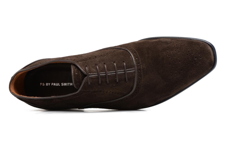 Chaussures à lacets Paul Smith Gilbert Marron vue gauche
