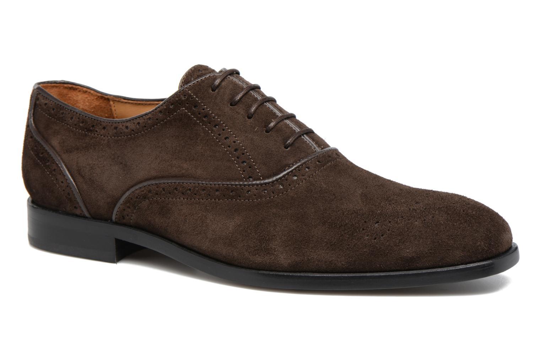 Chaussures à lacets Paul Smith Gilbert Marron vue détail/paire