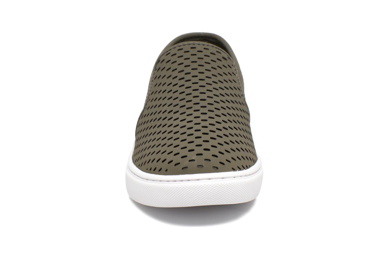 Baskets Steve Madden Elouise Vert vue portées chaussures