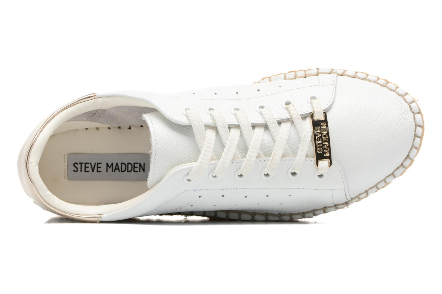 Trainers Steve Madden Pace White view from the left