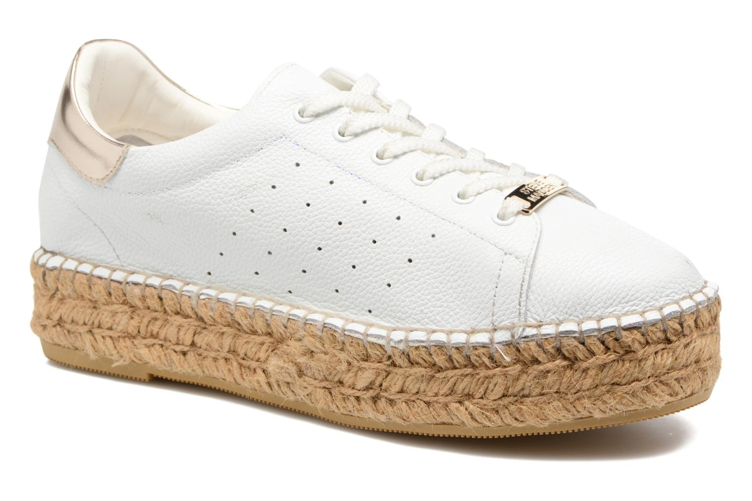 Trainers Steve Madden Pace White detailed view/ Pair view