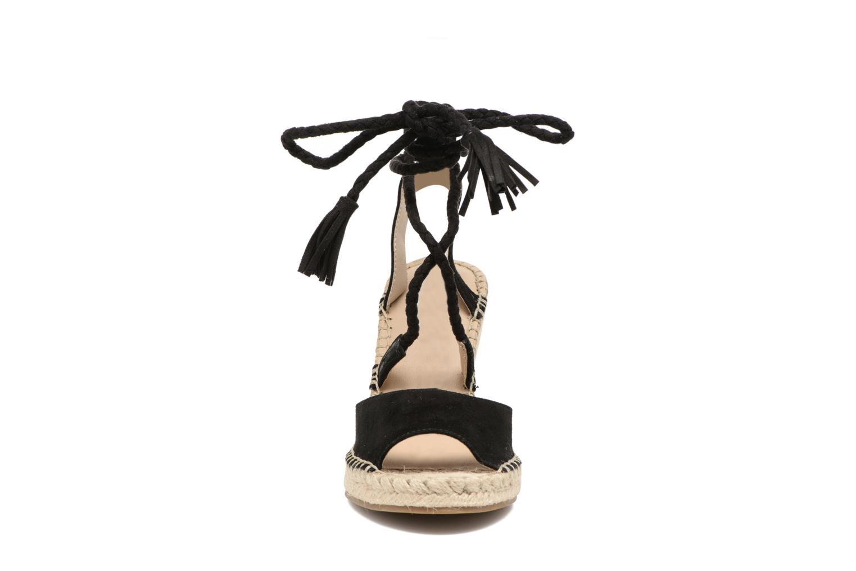 Espadrilles Steve Madden Slatee Noir vue portées chaussures