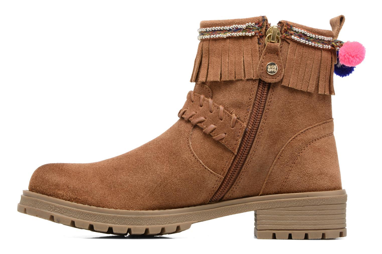 Bottines et boots Gioseppo Elpaso Marron vue face