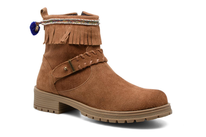 Bottines et boots Gioseppo Elpaso Marron vue détail/paire