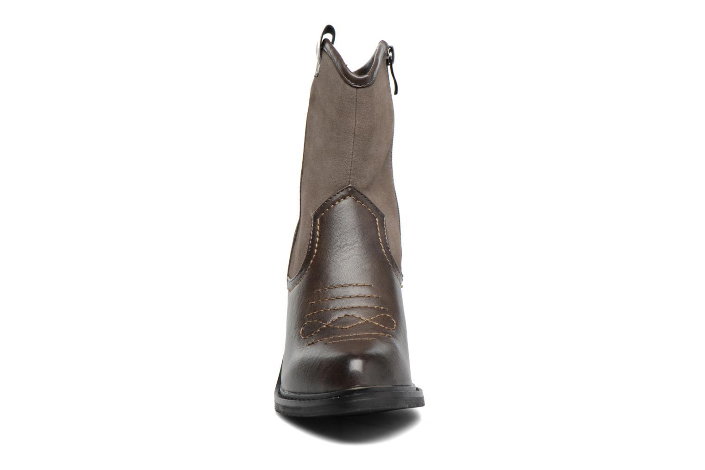 Bottines et boots Gioseppo Bertina Vert vue portées chaussures