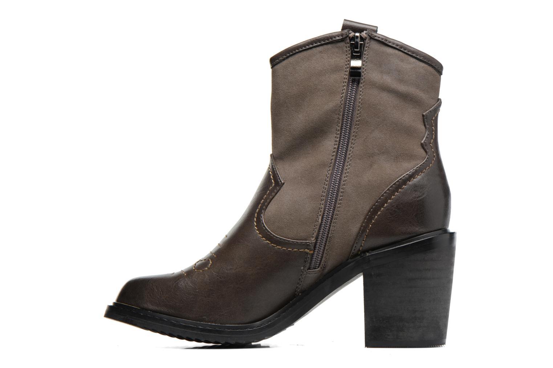 Bottines et boots Gioseppo Bertina Vert vue face