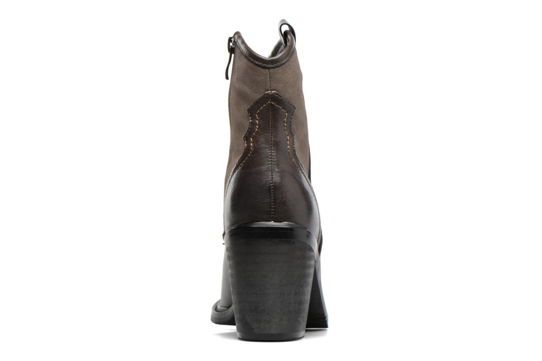 Bottines et boots Gioseppo Bertina Vert vue droite