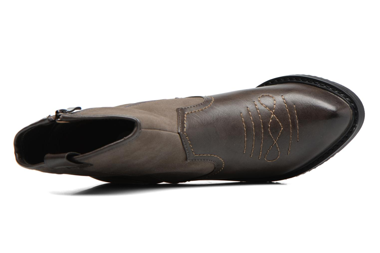 Bottines et boots Gioseppo Bertina Vert vue gauche
