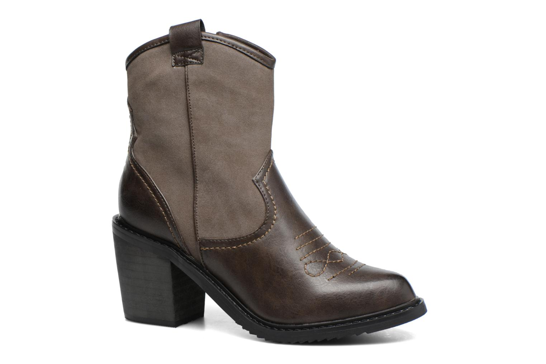 Bottines et boots Gioseppo Bertina Vert vue détail/paire