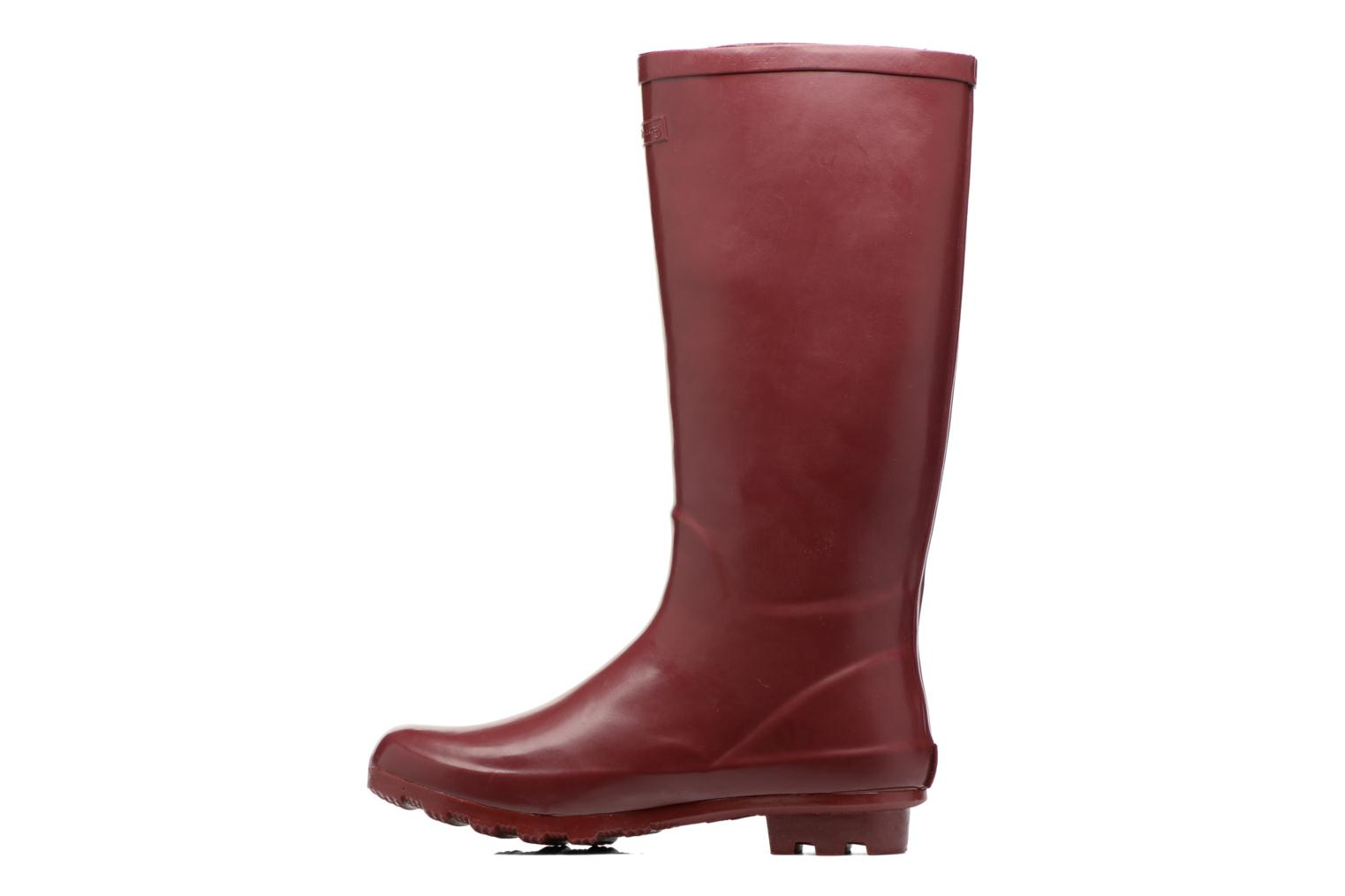 Boots & wellies Gioseppo Bristol Burgundy front view