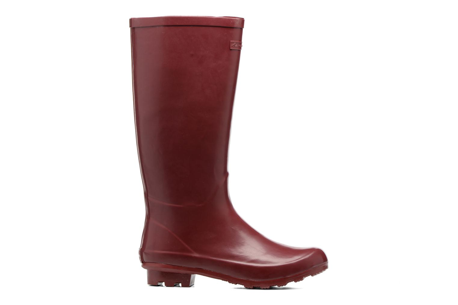 Boots & wellies Gioseppo Bristol Burgundy back view