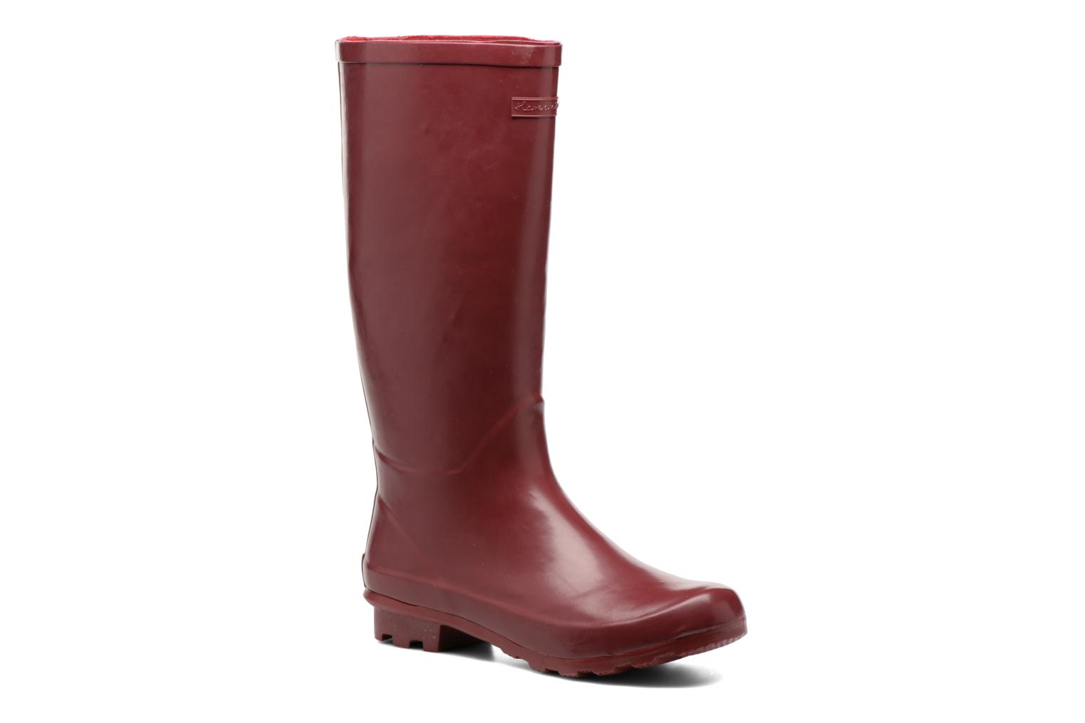 Boots & wellies Gioseppo Bristol Burgundy detailed view/ Pair view