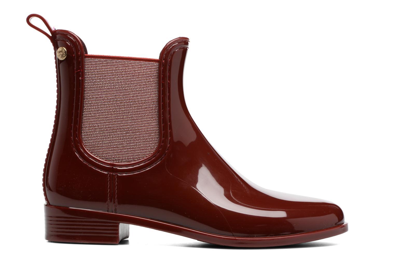 Bottines et boots Gioseppo Derby Bordeaux vue derrière