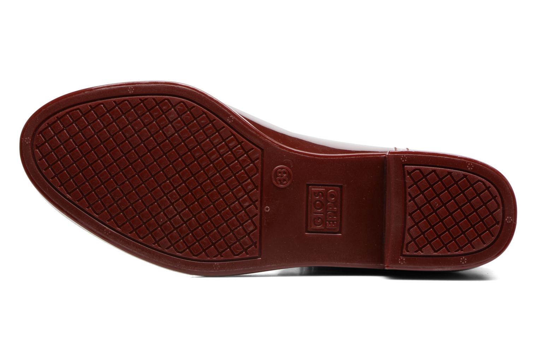 Bottines et boots Gioseppo Derby Bordeaux vue haut