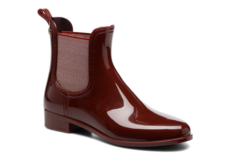 Bottines et boots Gioseppo Derby Bordeaux vue détail/paire