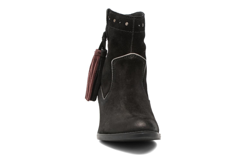 Bottines et boots Gioseppo Llanura Noir vue portées chaussures