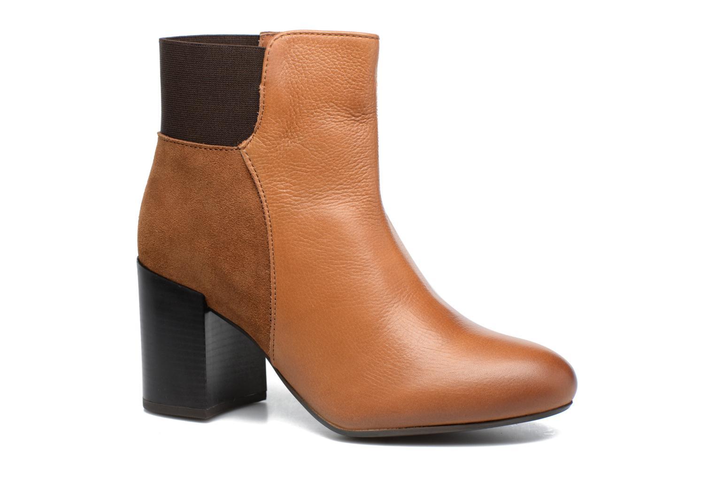 Bottines et boots Gioseppo Malvern Marron vue détail/paire