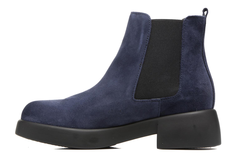 Bottines et boots Gioseppo Padme Bleu vue face