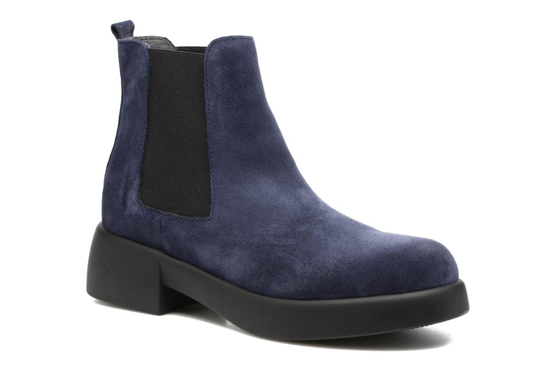 Bottines et boots Gioseppo Padme Bleu vue détail/paire
