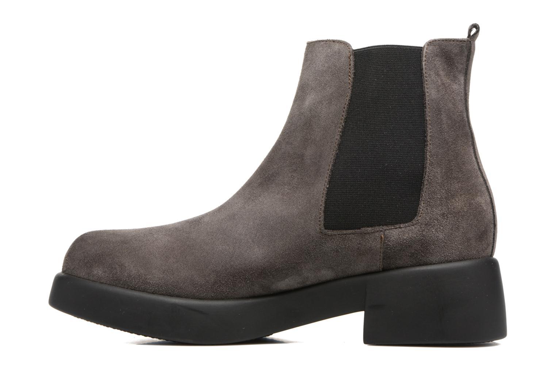 Bottines et boots Gioseppo Padme Gris vue face