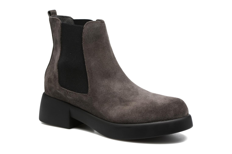 Bottines et boots Gioseppo Padme Gris vue détail/paire