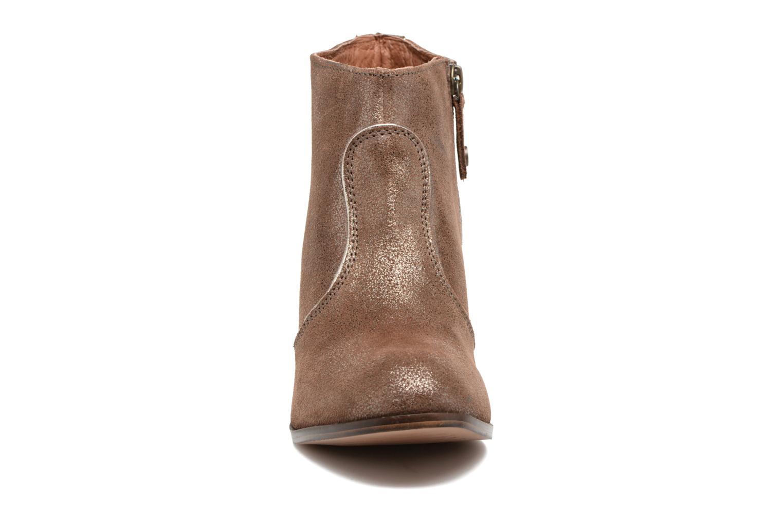 Bottines et boots Gioseppo Pensilvania Or et bronze vue portées chaussures