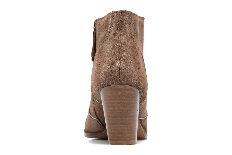 Bottines et boots Gioseppo Pensilvania Or et bronze vue droite