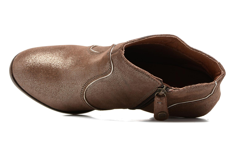Bottines et boots Gioseppo Pensilvania Or et bronze vue gauche