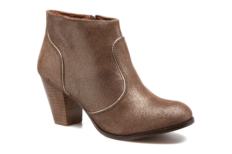 Bottines et boots Gioseppo Pensilvania Or et bronze vue détail/paire