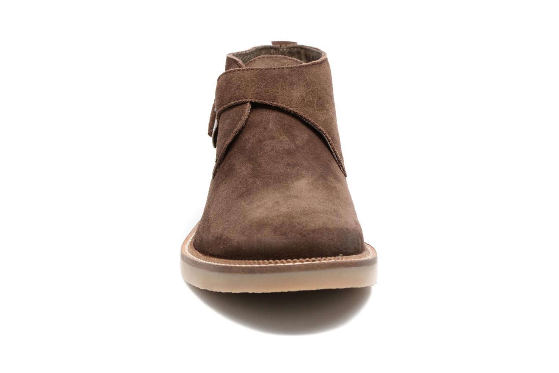 Bottines et boots Gioseppo Ailama Marron vue portées chaussures
