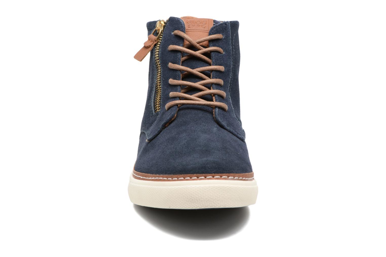 Baskets Gioseppo Nordal Bleu vue portées chaussures
