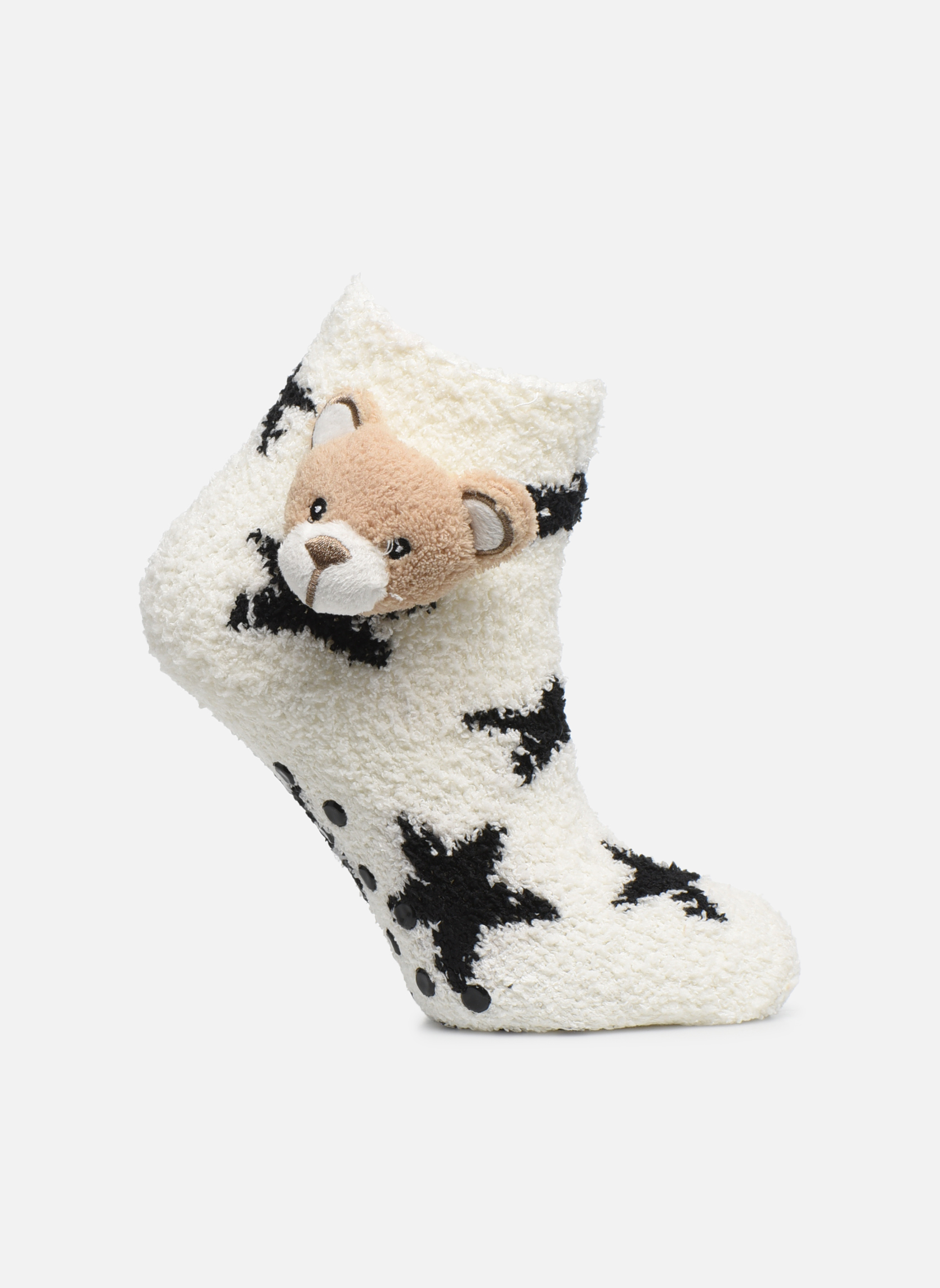 Medias y Calcetines Accesorios Chaussons Chaussette Fille Oursons Antidérapantes