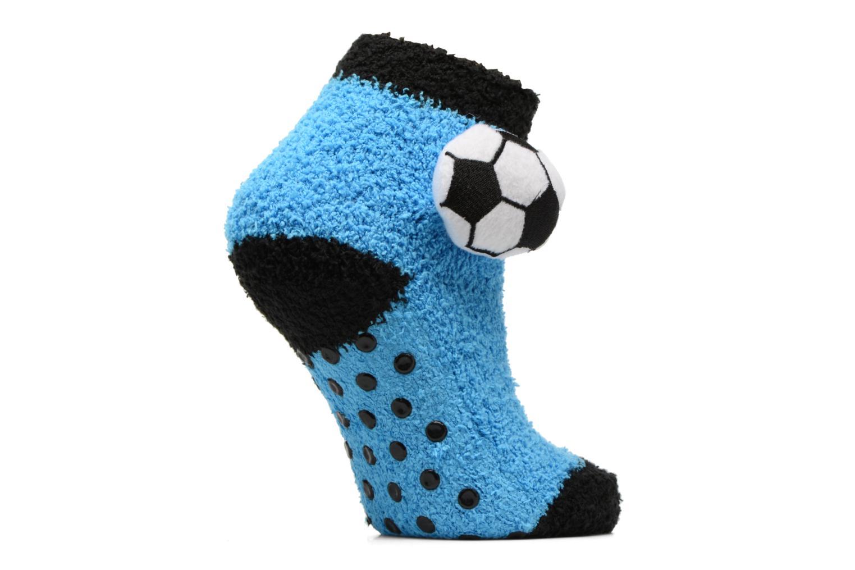 Chaussettes et collants Sarenza Wear Chaussons Chaussette Garçon Foot Antidérapantes Bleu vue détail/paire