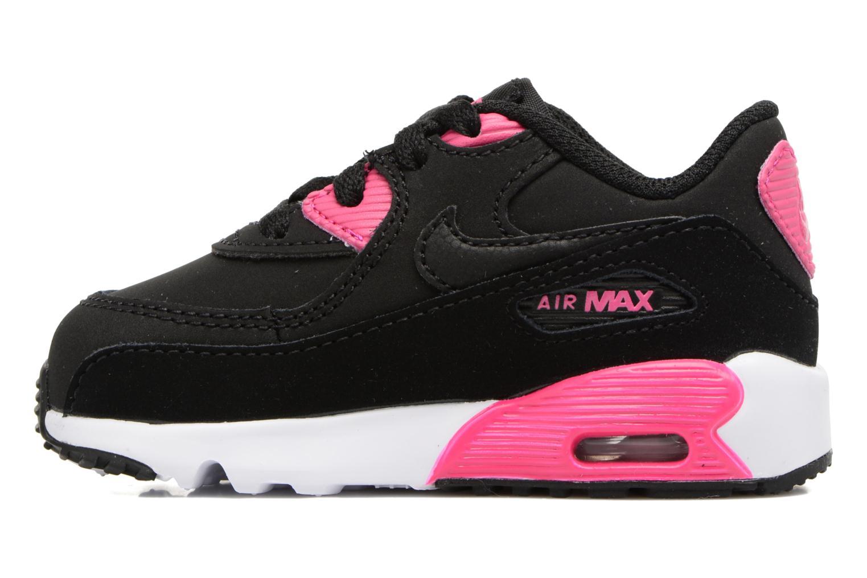 Baskets Nike Nike Air Max 90 Ltr (Td) Noir vue face