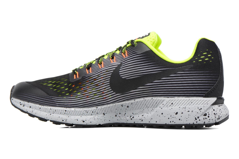 Chaussures de sport Nike Zoom Pegasus 34 Shield (Gs) Noir vue face