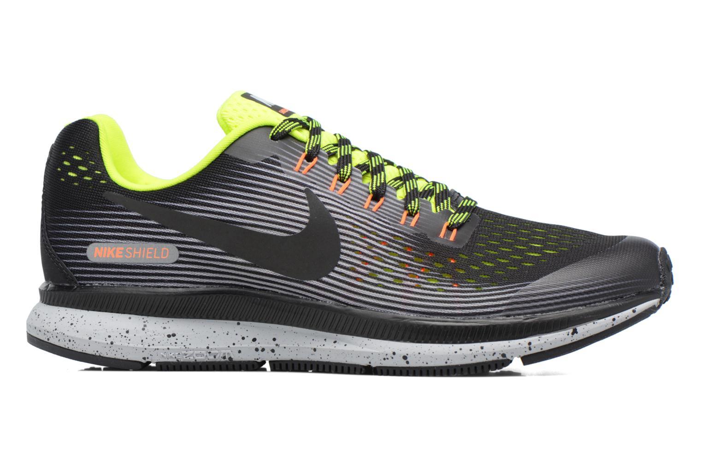 Chaussures de sport Nike Zoom Pegasus 34 Shield (Gs) Noir vue derrière