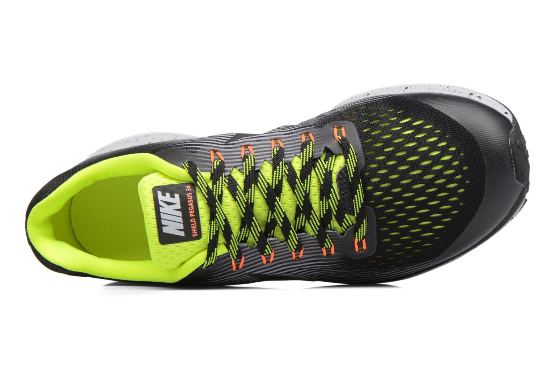 Chaussures de sport Nike Zoom Pegasus 34 Shield (Gs) Noir vue gauche