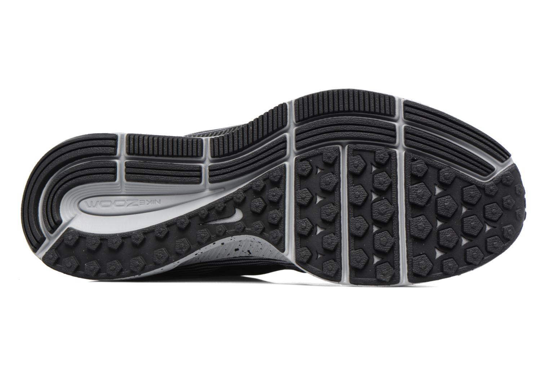 Chaussures de sport Nike Zoom Pegasus 34 Shield (Gs) Noir vue haut
