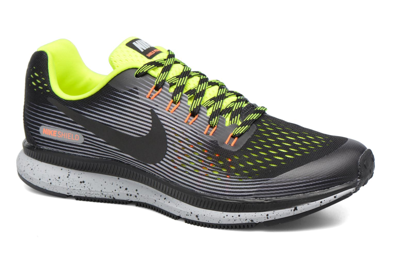 Sport shoes Nike Zoom Pegasus 34 Shield (Gs) Black detailed view/ Pair view