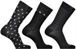 Chaussettes coton motif hivernal Lot de 3