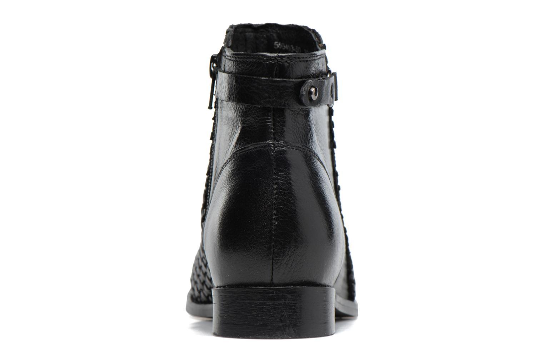 Bottines et boots Kickers Tuna Noir vue droite