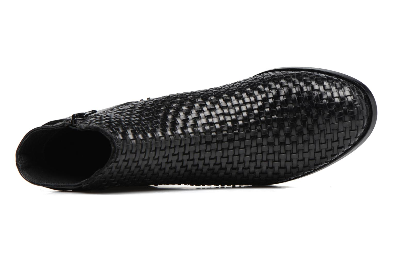 Bottines et boots Kickers Tuna Noir vue gauche