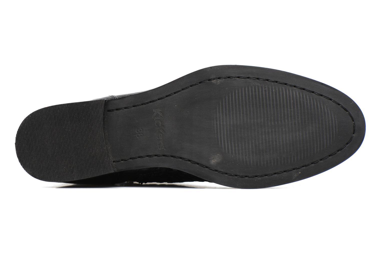 Bottines et boots Kickers Tuna Noir vue haut