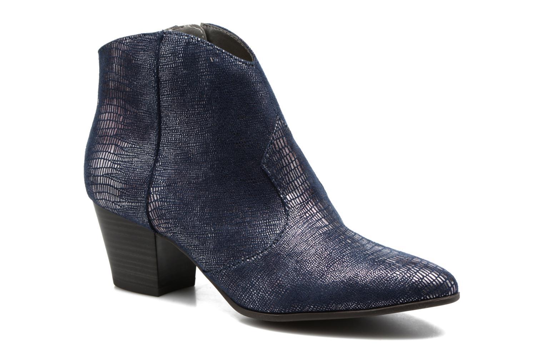 Bottines et boots Tamaris Westerna Bleu vue détail/paire