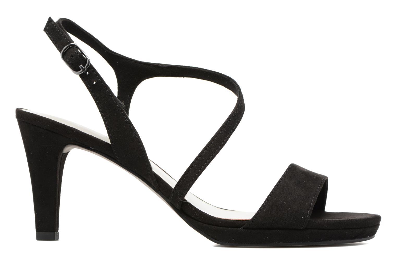 Sandales et nu-pieds Tamaris Festivala Noir vue derrière