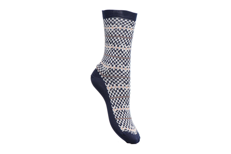 Chaussettes et collants Sarenza Wear Chaussettes Femme Graphique Lurex Bleu vue détail/paire