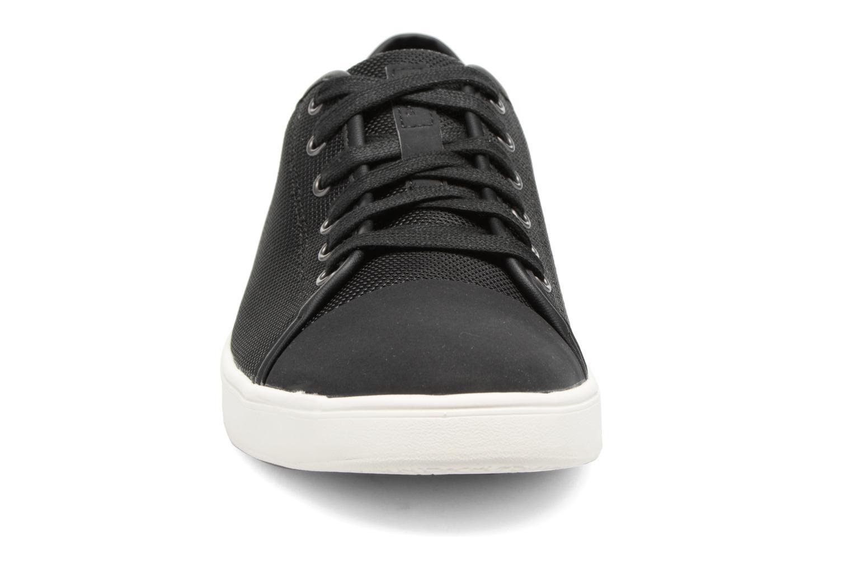 Baskets Clarks Lander Cap Noir vue portées chaussures